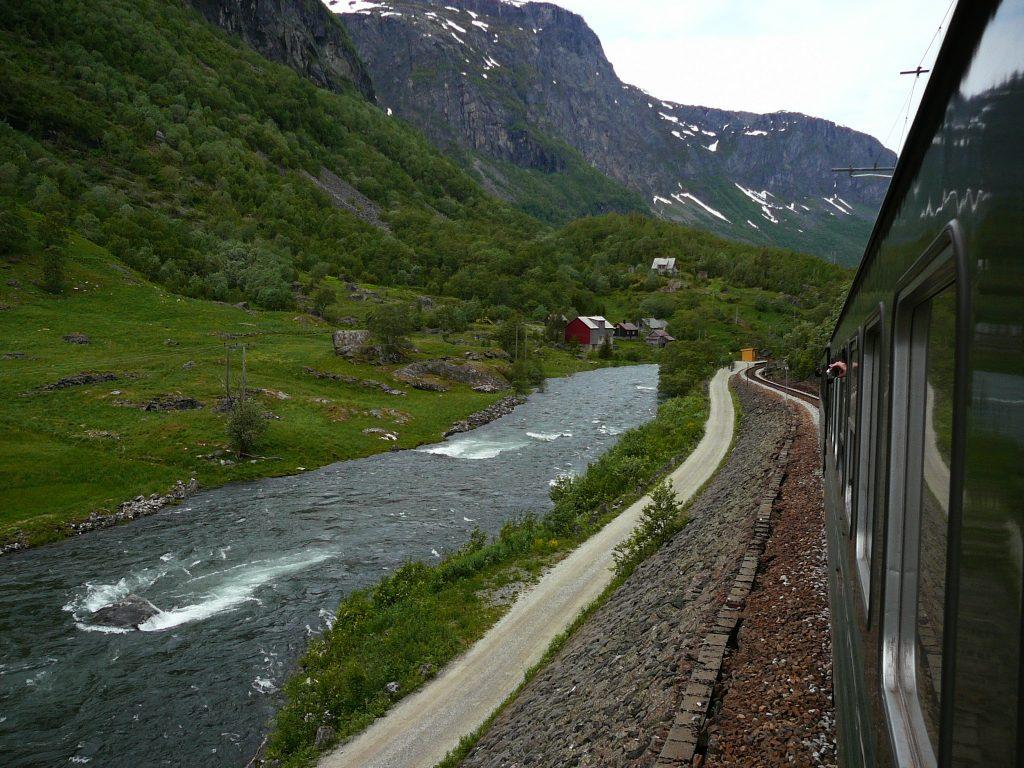 Flåmsbana Noorwegen