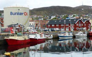 Haven Noorwegen, Olietank